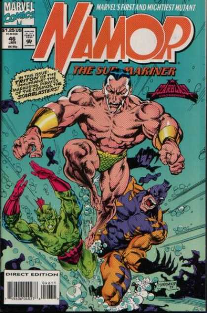 Namor 46 - Sub Mariner - Mightiest Mutant - Triton - Marvel - The Starblasters
