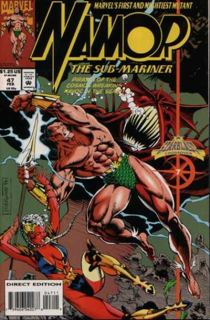 Namor 47 - The Sub Mariner - Red Devil - End Of The Planet - Welcome To Hell - The Great Escape