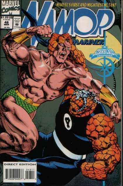 Namor 48 - Marvel - The Thing - Mariner - 48 - Crossover