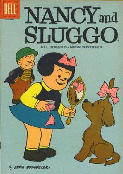 Nancy and Sluggo 180 - Dell - Cap - February - All Brand -new Stories - Ernie