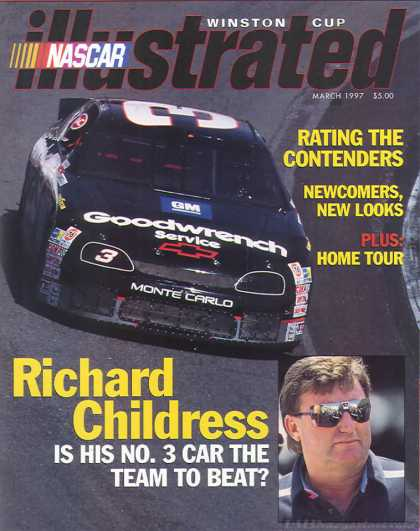 NASCAR Illustrated - March 1997