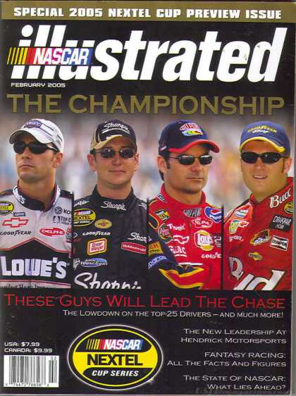 NASCAR Illustrated - February 2005