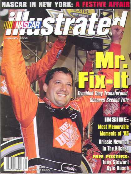 NASCAR Illustrated - January 2006