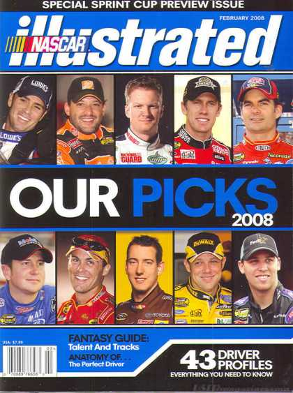NASCAR Illustrated - February 2008
