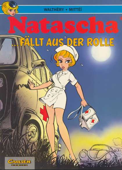 Natascha 2 - German Language - Nurse Outfit - Car - Medical Van - Moon