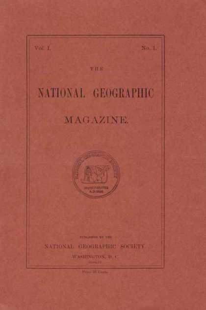 National Geographic - First issue, 1888