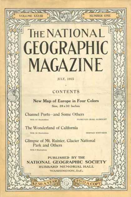 National Geographic 274