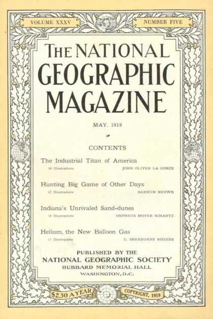 National Geographic 319