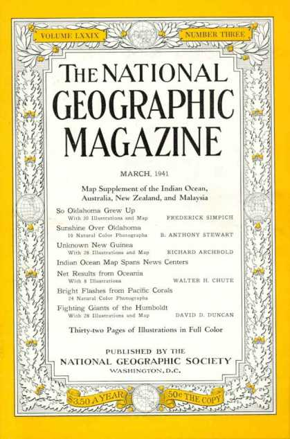 National Geographic 581