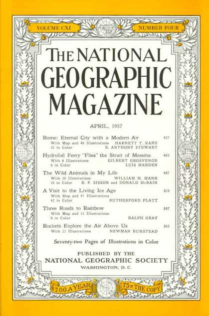 National Geographic 734