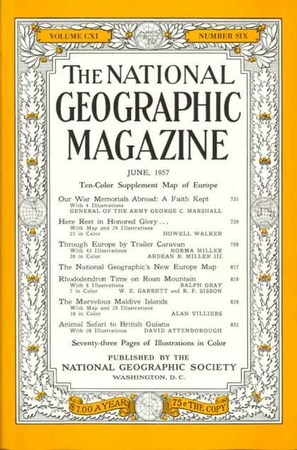 National Geographic 736