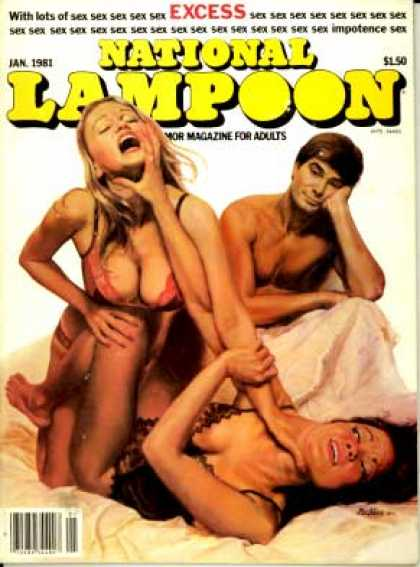 National Lampoon - January 1981
