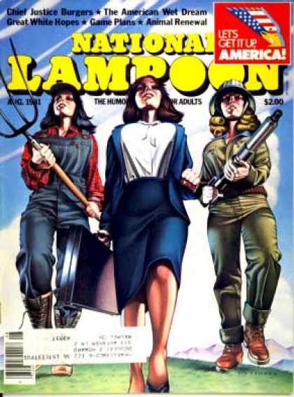 National Lampoon - August 1981