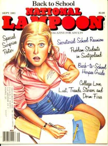 National Lampoon - September 1981