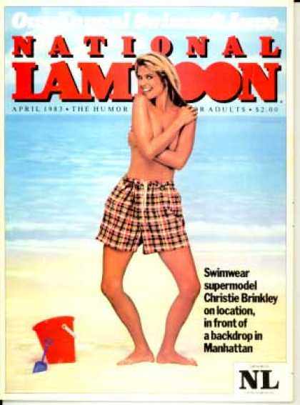 National Lampoon - April 1983