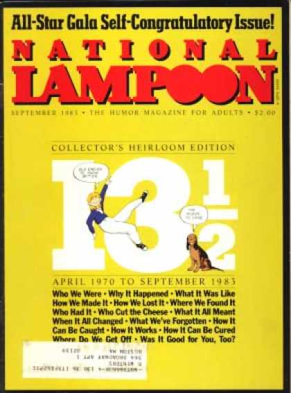 National Lampoon - September 1983