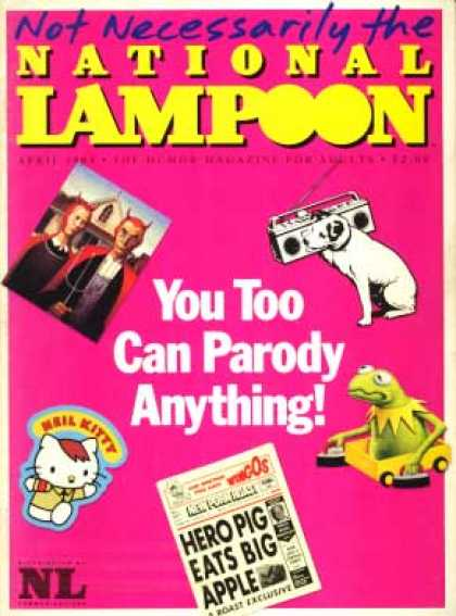 National Lampoon - April 1984