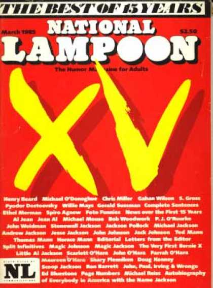 National Lampoon - March 1985