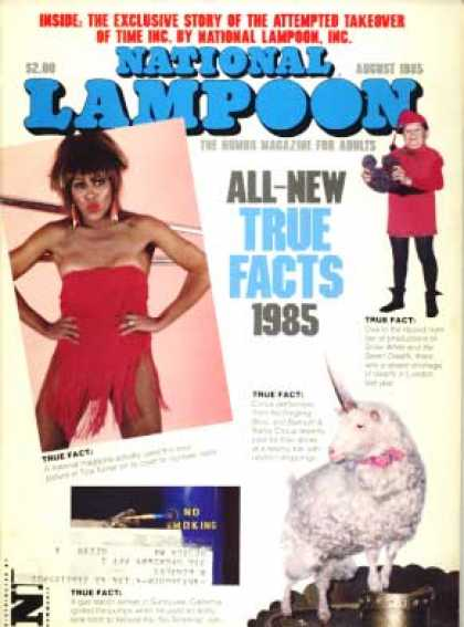 National Lampoon - August 1985