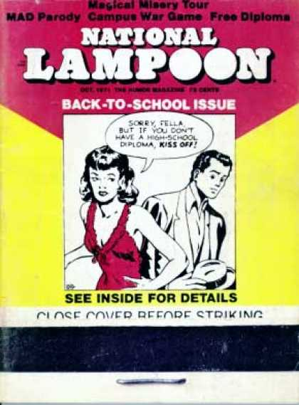 National Lampoon - October 1971