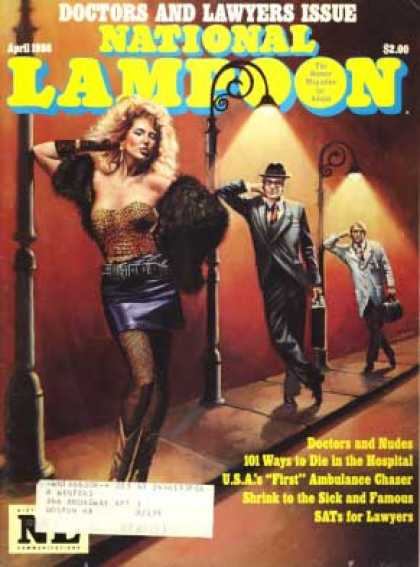 National Lampoon - April 1986