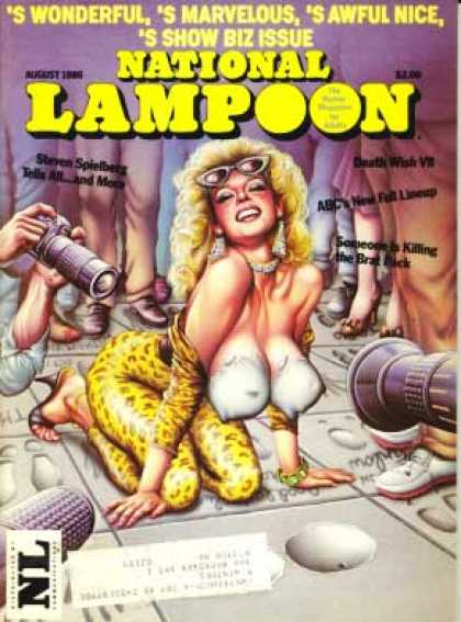 National Lampoon - August 1986