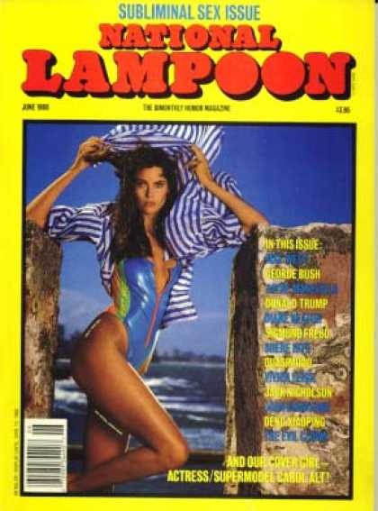 National Lampoon - June 1988