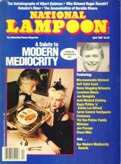 National Lampoon - April 1989