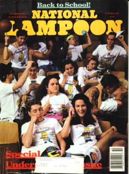 National Lampoon - October 1990