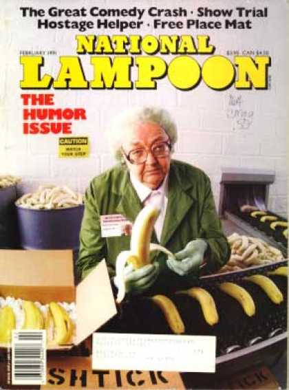 National Lampoon - February 1991