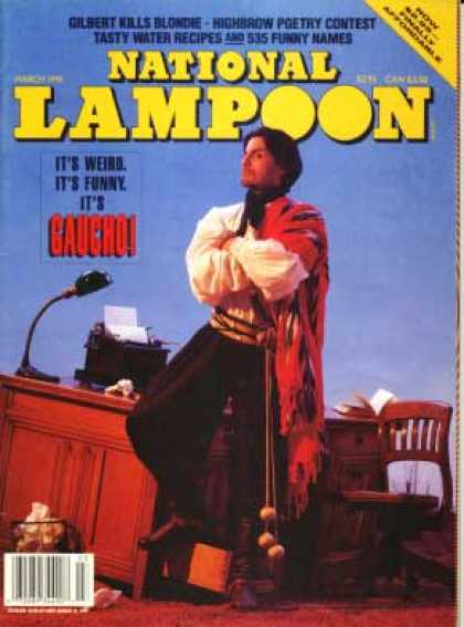 National Lampoon - March 1991