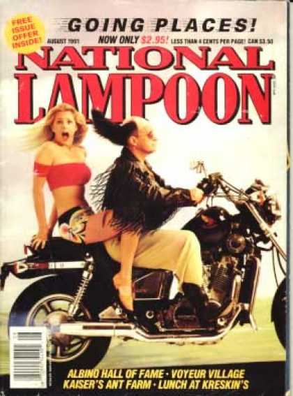 National Lampoon - August 1991