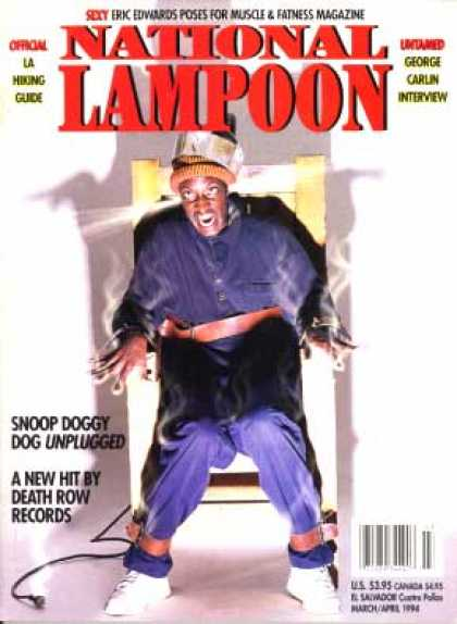 National Lampoon - March April 1994
