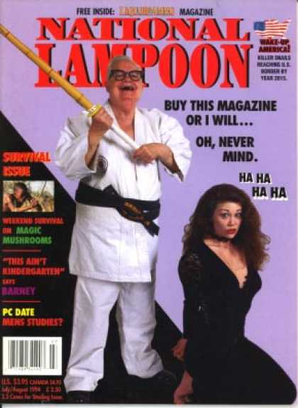 National Lampoon - July August 1994