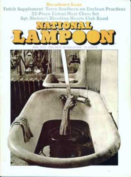 National Lampoon - November 1972