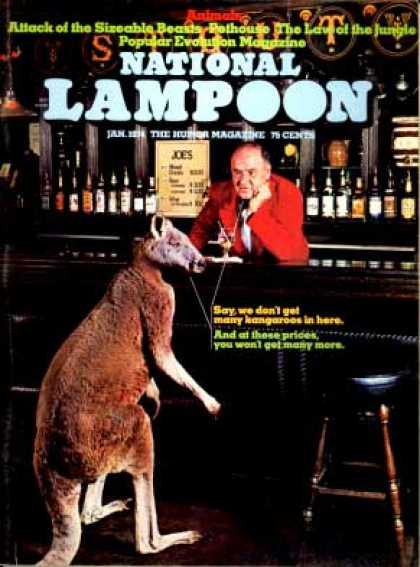 National Lampoon - January 1974