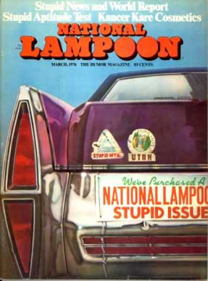National Lampoon - March 1974