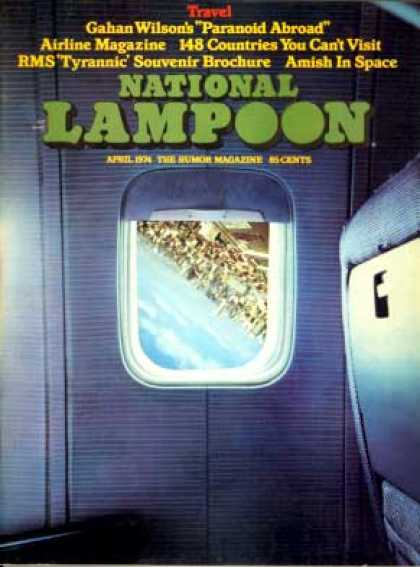 National Lampoon - April 1974