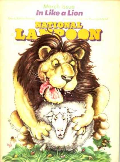 National Lampoon - March 1976