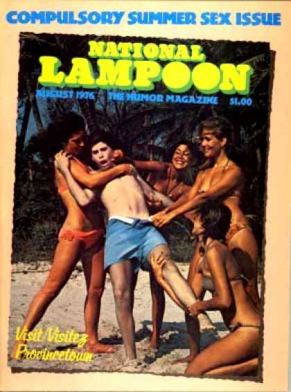 National Lampoon - August 1976