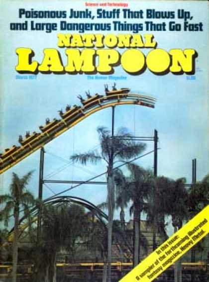 National Lampoon - March 1977