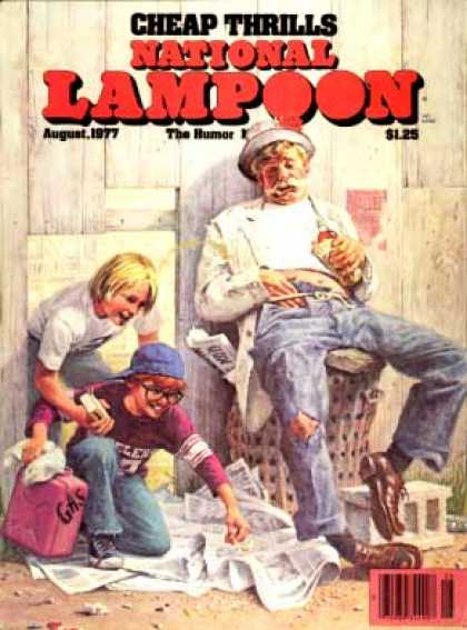 National Lampoon - August 1977