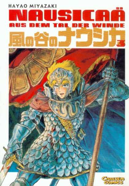 Nausicaa 3 - Ghibli - Hayao Miyazaki - Of The Valley Of The Wind - Manga - Japanimation