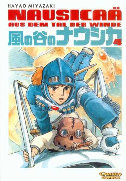 Nausicaa 4 - Nuclear Fission Attack - Nausicaa Takes Control - Looks Like One Wild Ride - Explosive - Our Heros Hang On By A Thread
