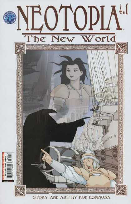 Neotopia 4 1 - The New World - Story And Art By Rod Espinosa - Mirror - Boat - Shadow