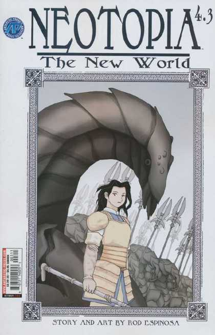 Neotopia 4 3 - The New World - Rod Espinosa - Story And Art - Man - Spear