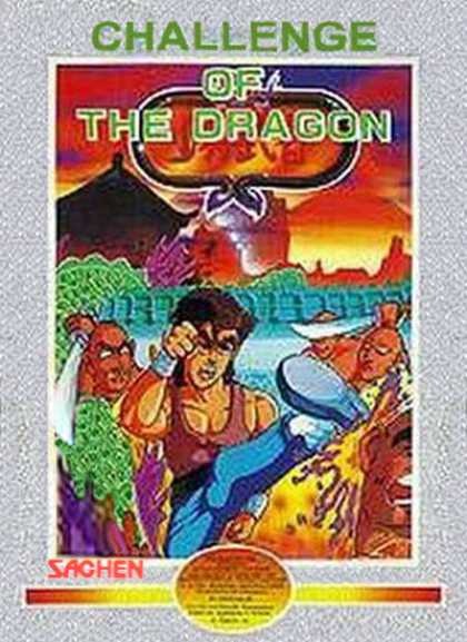 NES Games - Challenge of the Dragon - Sachen
