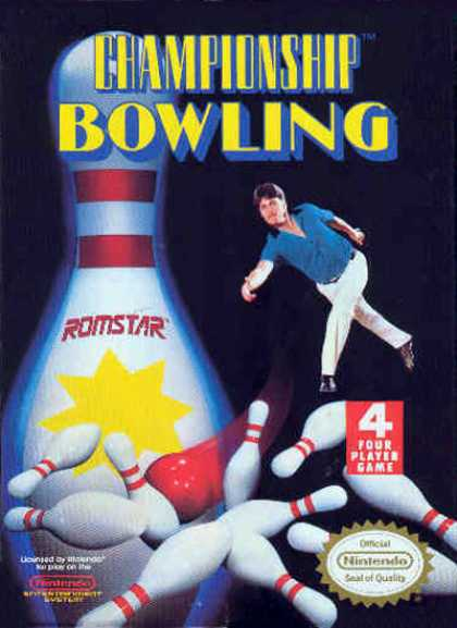 NES Games - Championship Bowling