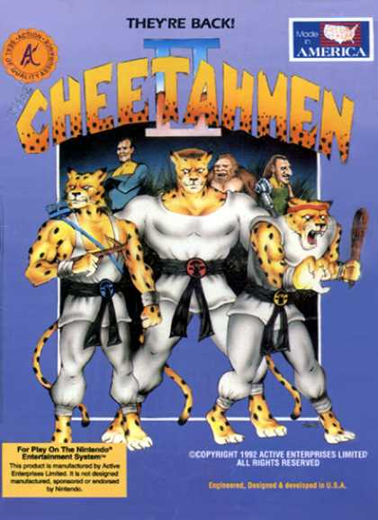 NES Games - Cheatmen 2