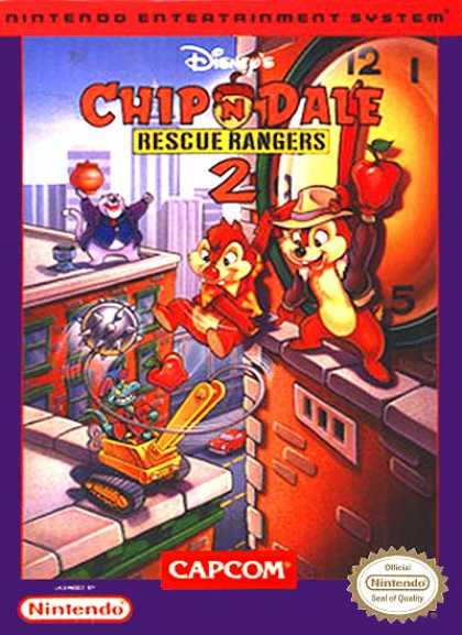 NES Games - Chip 'n Dale 2